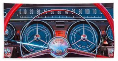 1959 Buick Lesabre Steering Wheel Beach Sheet