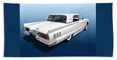 1960 Ford Thunderbird Beach Towel