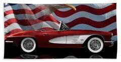 1961 Corvette Tribute Beach Sheet