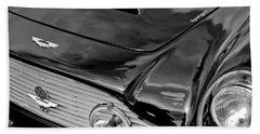 1963 Aston Martin Db4 Series V Vintage Gt Grille Emblem Beach Towel