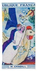 1963 M. Chagall Beach Towel