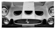 1964 Ferrari 275 Gtb-c Speciale Grille -0959bw Beach Towel