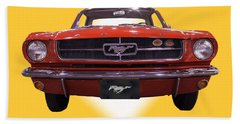 1964 Ford Mustang Beach Towel