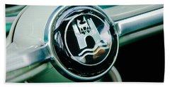 1964 Volkswagen Vw Steering Wheel Beach Towel