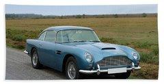 1965 Aston Martin Db5 Gt Vantage Beach Towel