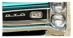1966 Pontiac Gto Beach Towel