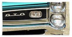1966 Pontiac Gto Beach Towel