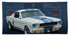 1966 Shelby Gt350 Beach Towel