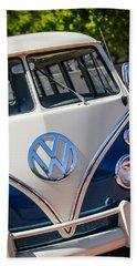 1966 Volkswagen Micro Bus -1012c Beach Towel