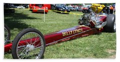 1967 Billy Lynch's Top Fuel Dragster Beach Towel