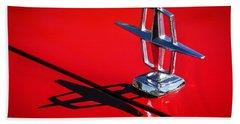 1967 Lincoln Continental Hood Ornament -1204c Beach Towel