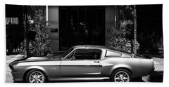 1967 Shelby Mustang B Beach Towel by Andrew Fare