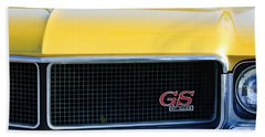 1970 Buick Gs Grille Emblem Beach Towel