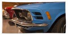 1970 Mustang Mach 1 And Other Classics Hidden In A Garage Beach Towel