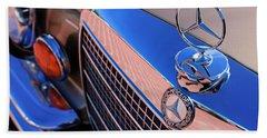 Beach Towel featuring the photograph 1971 Mercedes-benz 280se 3.5 Cabriolet  by Jill Reger