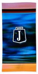 1974 Jensen Interceptor Emblem Beach Towel