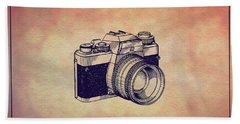 1979 Rollei Camera Patent Art 1 Beach Towel