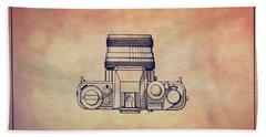 1979 Rollei Camera Patent Art 2 Beach Towel