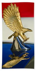1986 Zimmer Golden Spirit Hood Ornament Beach Towel