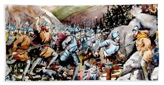 Battle Of Glenmalure  1580  Wicklow Beach Towel