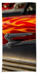 1939 Graham Coupe Hood Ornament Beach Sheet