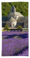 Abbaye De Senanque Beach Sheet by Brian Jannsen