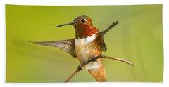 Allens Hummingbird Beach Towel