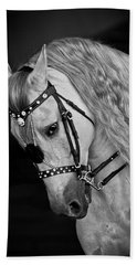 Beach Towel featuring the photograph Andalusian D9098 by Wes and Dotty Weber