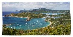 Beach Towel featuring the photograph Antigua by Brian Jannsen