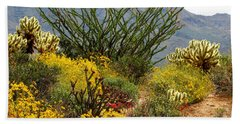 Arizona Springtime Beach Towel