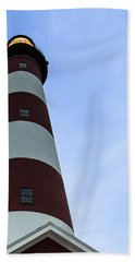 Assateague Lighthouse At Dawn Beach Towel