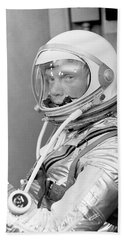 Astronaut John Glenn Beach Towel by War Is Hell Store