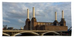 Battersea Power Station Beach Towel