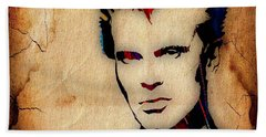 Billy Idol Collection Beach Towel