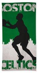 Boston Celtics Beach Towel