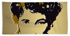 Bruce Springsteen Gold Series Beach Towel by Marvin Blaine