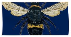 Bumblebee Bedazzled Beach Sheet