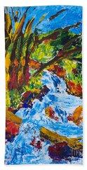 Burch Creek Beach Towel