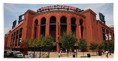 Busch Stadium - St. Louis Cardinals Beach Towel