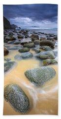 Beach Towel featuring the photograph Campelo Beach Galicia Spain by Pablo Avanzini