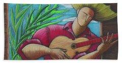 Cancion Para Mi Tierra Beach Towel