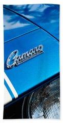 Chevrolet Camaro Emblem Beach Towel