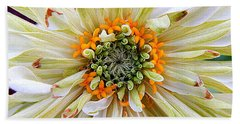 Chrysanthemum Fall In New Orleans Louisiana Beach Sheet by Michael Hoard