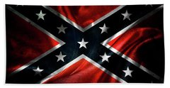Confederate Flag 1 Beach Towel
