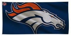 Denver Broncos Uniform Beach Towel