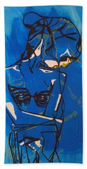 Dinka Painted Lady - South Sudan Beach Towel
