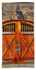 Doors Of Charleston Beach Sheet