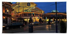 D65l-120 Easton Town Center Photo Beach Towel