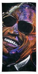 electric Ray Charles Beach Towel