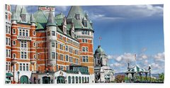 Fairmont Le Chateau Frontenac Series 01 Beach Sheet